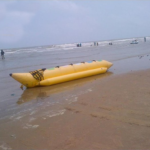 Banana-Boat-on-Mandarmoni-Beach