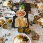 Fresh tasty food serevd with warm hospitality at Pumsi Homestay