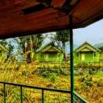Greenery all around Bara Pathing Eco Hut