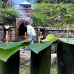 Organic-local-beverage-tongba-at-Riverside Cottage Mirik