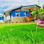 Rinchenpong Villa among greenery