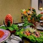 Olive Hotel & Spa Pelling buffet breakfast spread