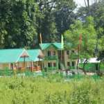 Side view of Bon Pahari cottage